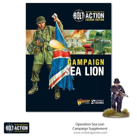 Bolt Action - Operation Sea Lion (bez figurki)