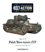 Bolt Action - Twin-turreted Polish 7TP tank