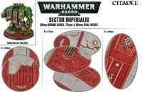 Sector Imperialis - 60mm Round Bases, 75mm&90mm Oval Bases