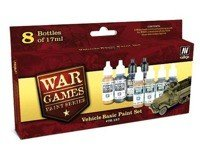 Zestaw WWII Wargames Vehicle Basic Paint Set