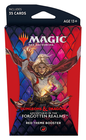 Adventure in the Forgotten Realms - Red Theme Booster