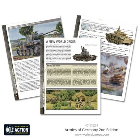 Bolt Action - 2nd Edition Armies of Germany rulebook