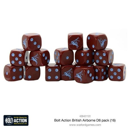 Bolt Action - British Airbone D6 pack