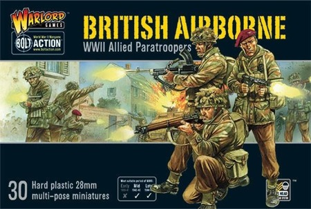 Bolt Action - British Airborne WWII Allied Paratroopers