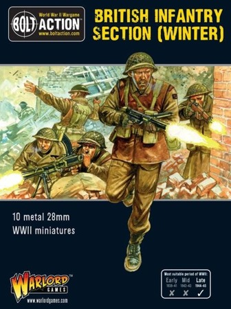 Bolt Action - British Infantry section (Winter)
