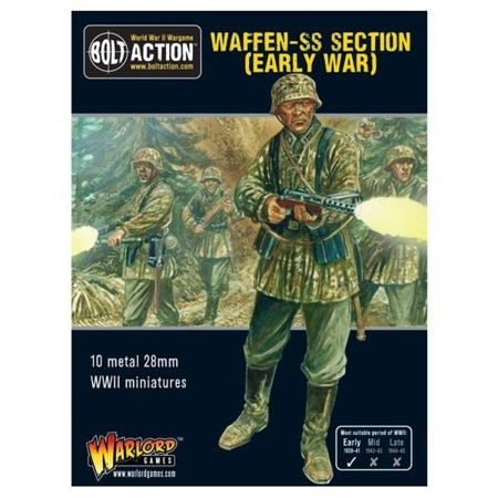 Bolt Action - Early War Waffen-SS Squad
