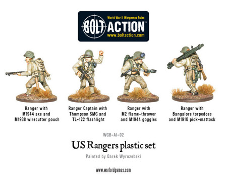 Bolt Action - Rangers Lead The Way! - US Rangers Boxed Set