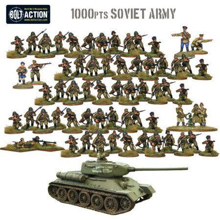 Bolt Action - Soviet Starter Army (1000pts)