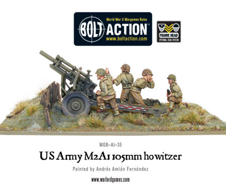 Bolt Action - US Army M2A1 105mm Howitzer