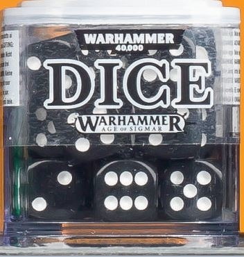 Citadel 12mm Dice Set - Czarne