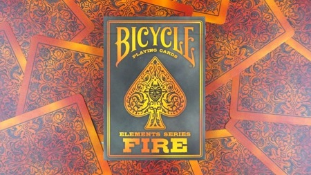 Karty Bicycle - Fire