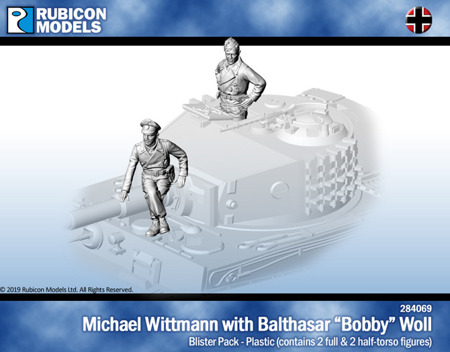 Rubicon Michael Wittmann with Balthasar Bobby Woll