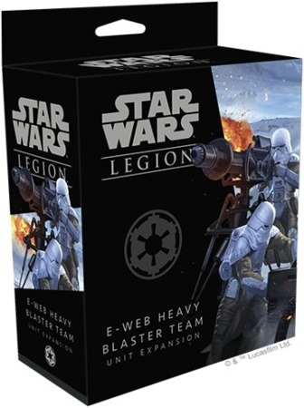 Star Wars Legion E-Web Heavy Blaster T