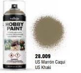 Vallejo Hobby Paint US Khaki Spray 400ml.
