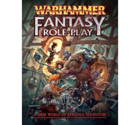 Warhammer Fantasy Roleplay 4th Edition Rulebook - ENG